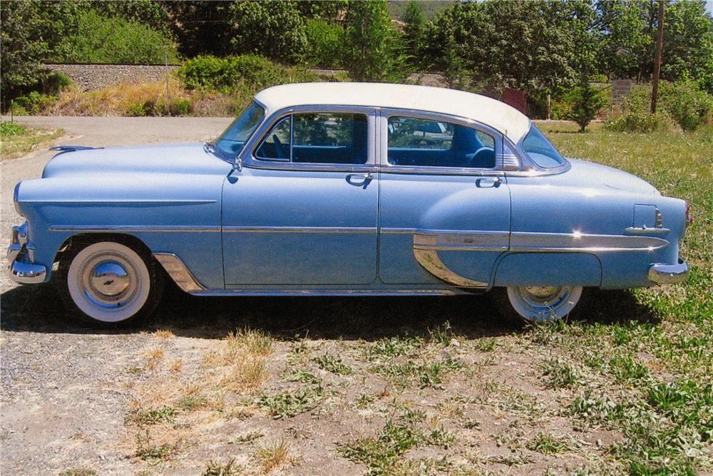 1953 chevrolet bel air 4 door sedan 1950s cars for 1953 chevy bel air 4 door