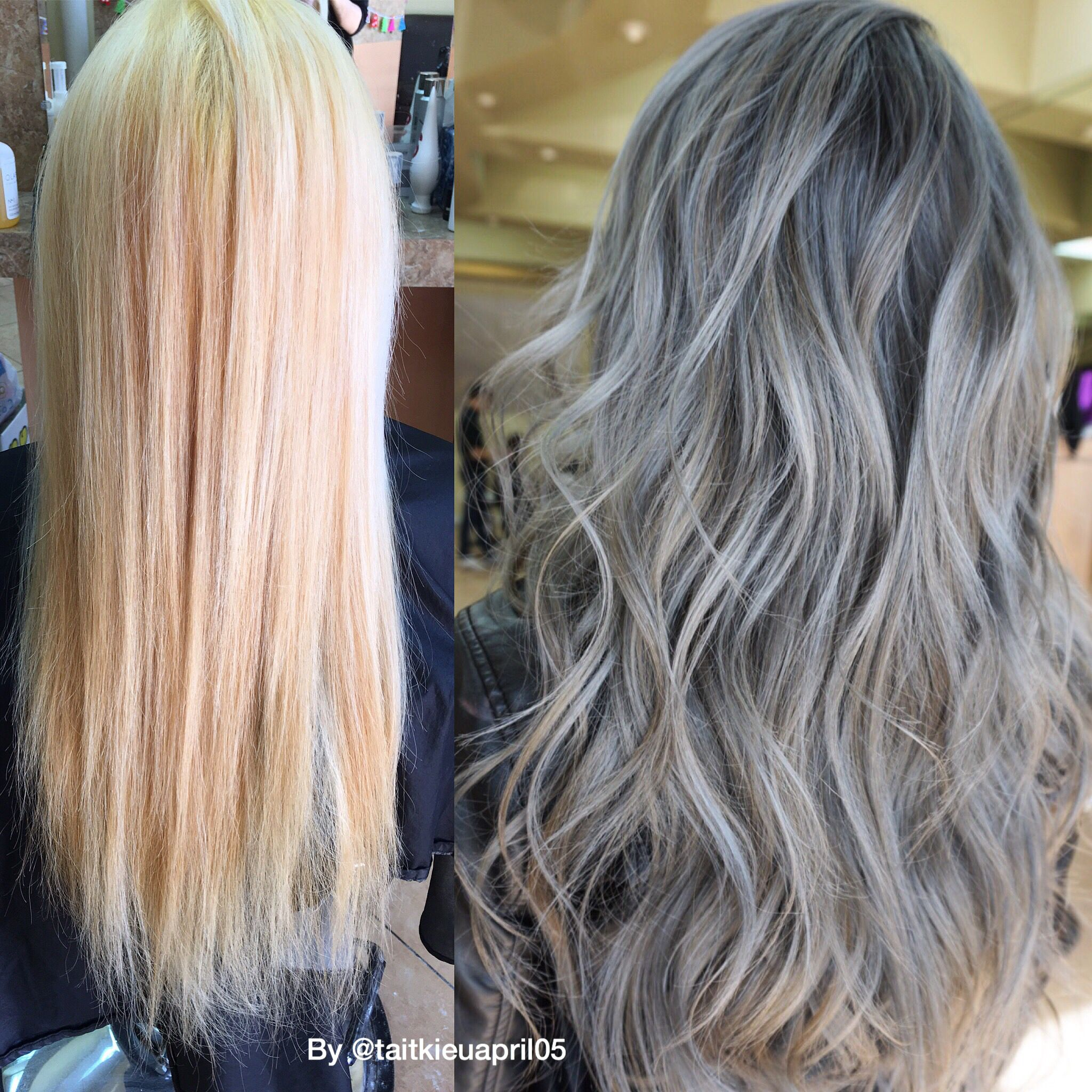 Transformation Bleached Out To Dimensional Blue Gray Blue Grey