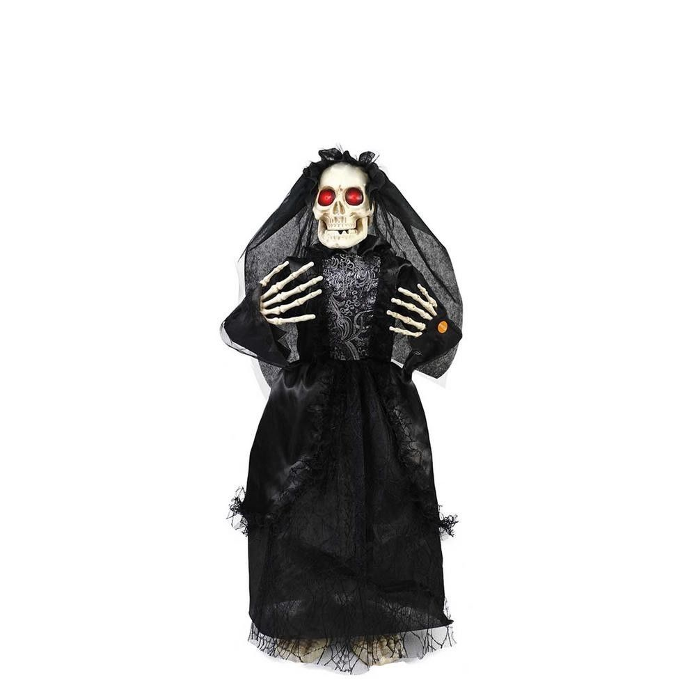36 in Animated Bride with LED Eyes Outdoor Halloween