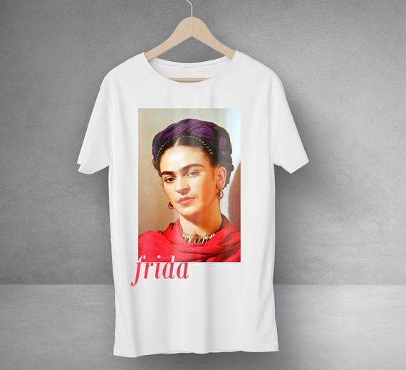 f3c44af39 Frida Kahlo premium quality cotton crew neck women t shirt, trendy women  fashion Check our awesome t-shirt designs selection at: ...