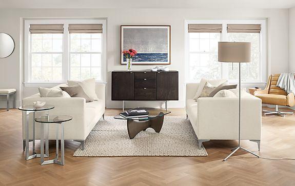 Room U0026 Board   Sterling Sofa In Arin Ivory