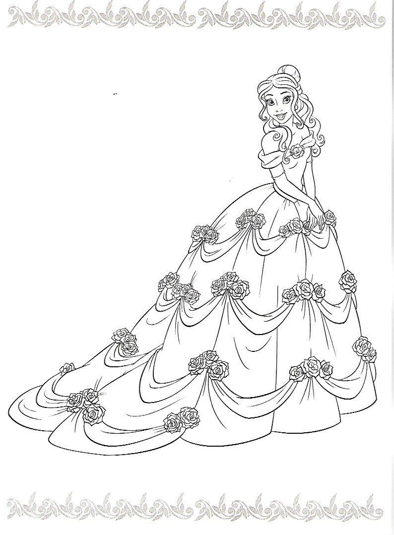 Pingl par jody kyle sur coloring pages pinterest coloriage dessin et la belle - Princesse disney a colorier ...