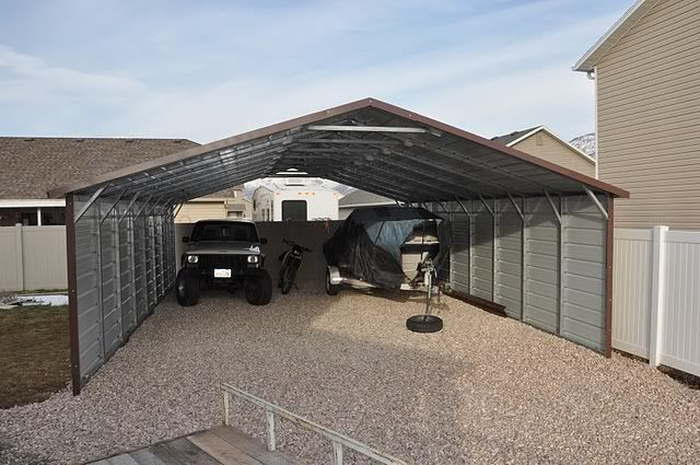 22 X31 Metal Carport With Sides This Is A Very Functional And