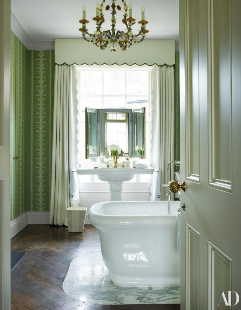 A Classic London Townhouse By Veere Grenney Design Del Bagno