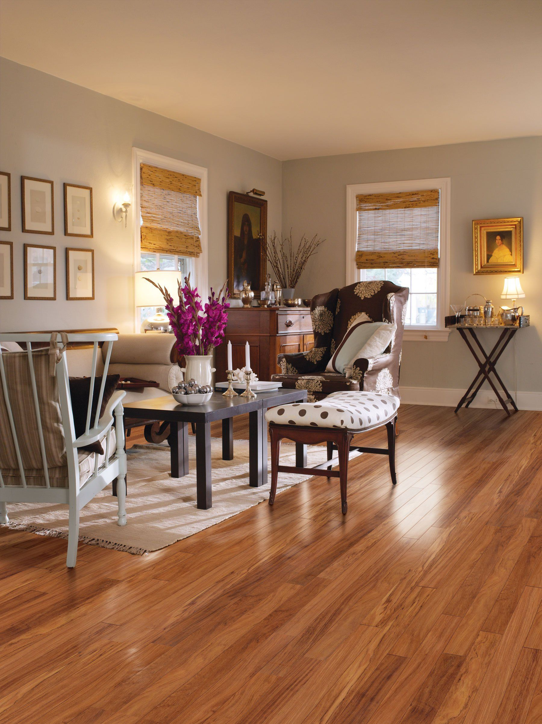 Paint Living Room Laminate Wood Floors Sun Hardwood