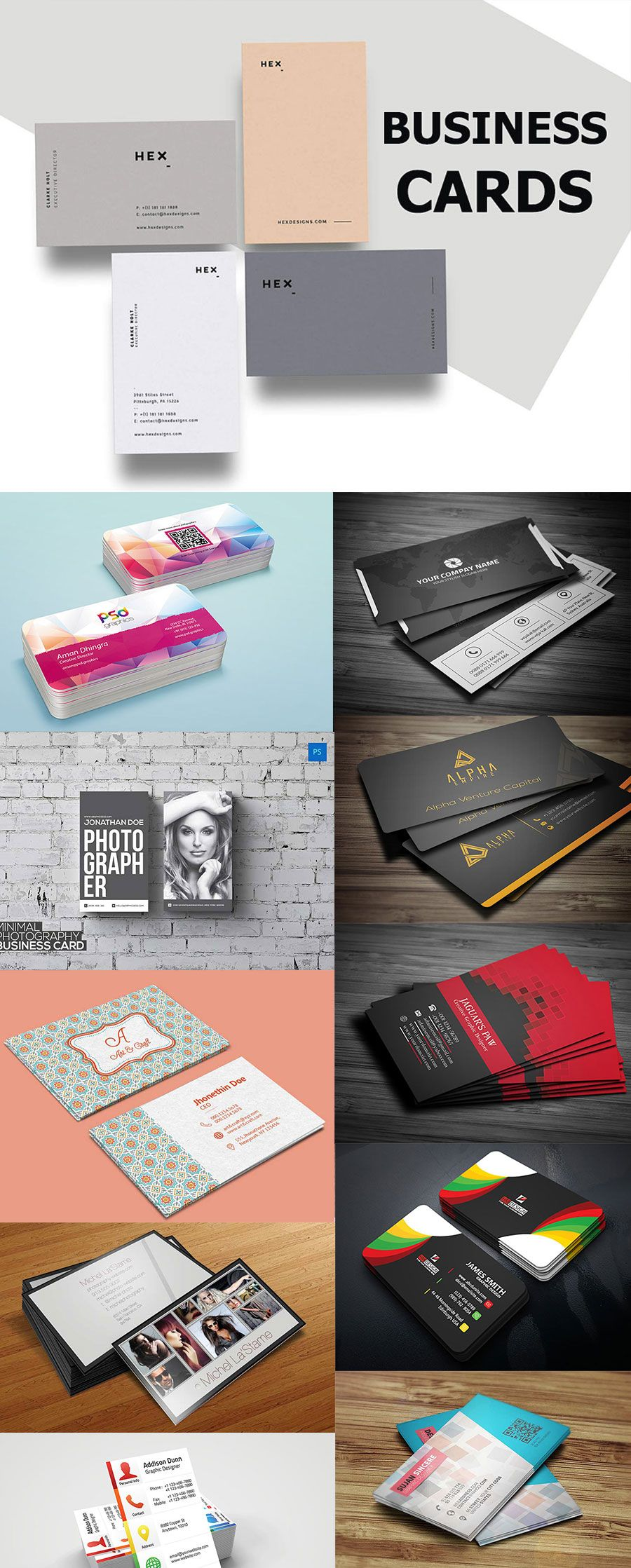 Best free business card templates psd to download business card best free business card templates psd to download magicingreecefo Gallery