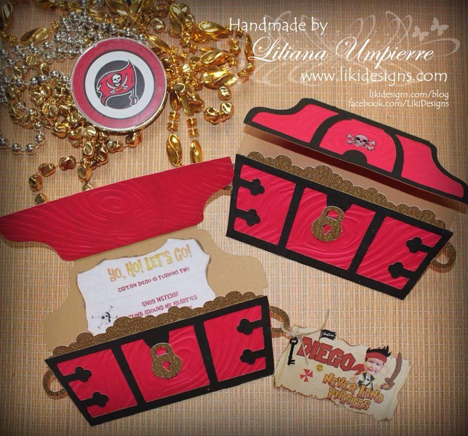 jake #and # the #neverland #pirates #invitations | Handmade Cards ...