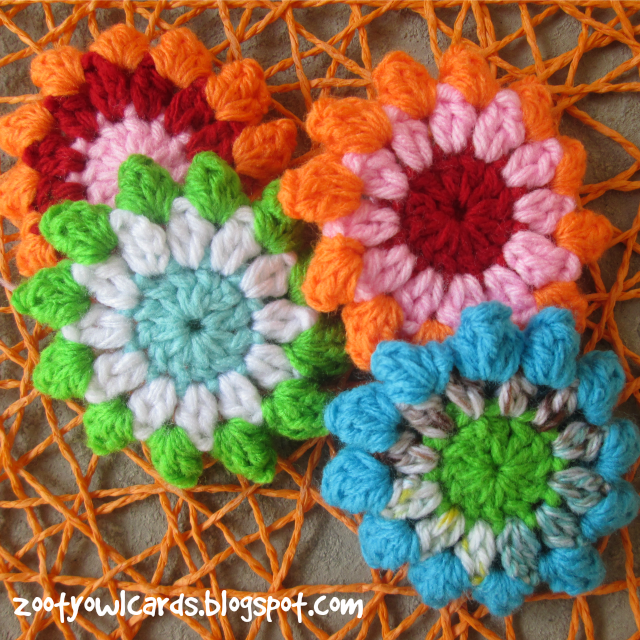 Popcorn Flower Hexagon: Pattern | Crochet Patterns | Pinterest | Flores