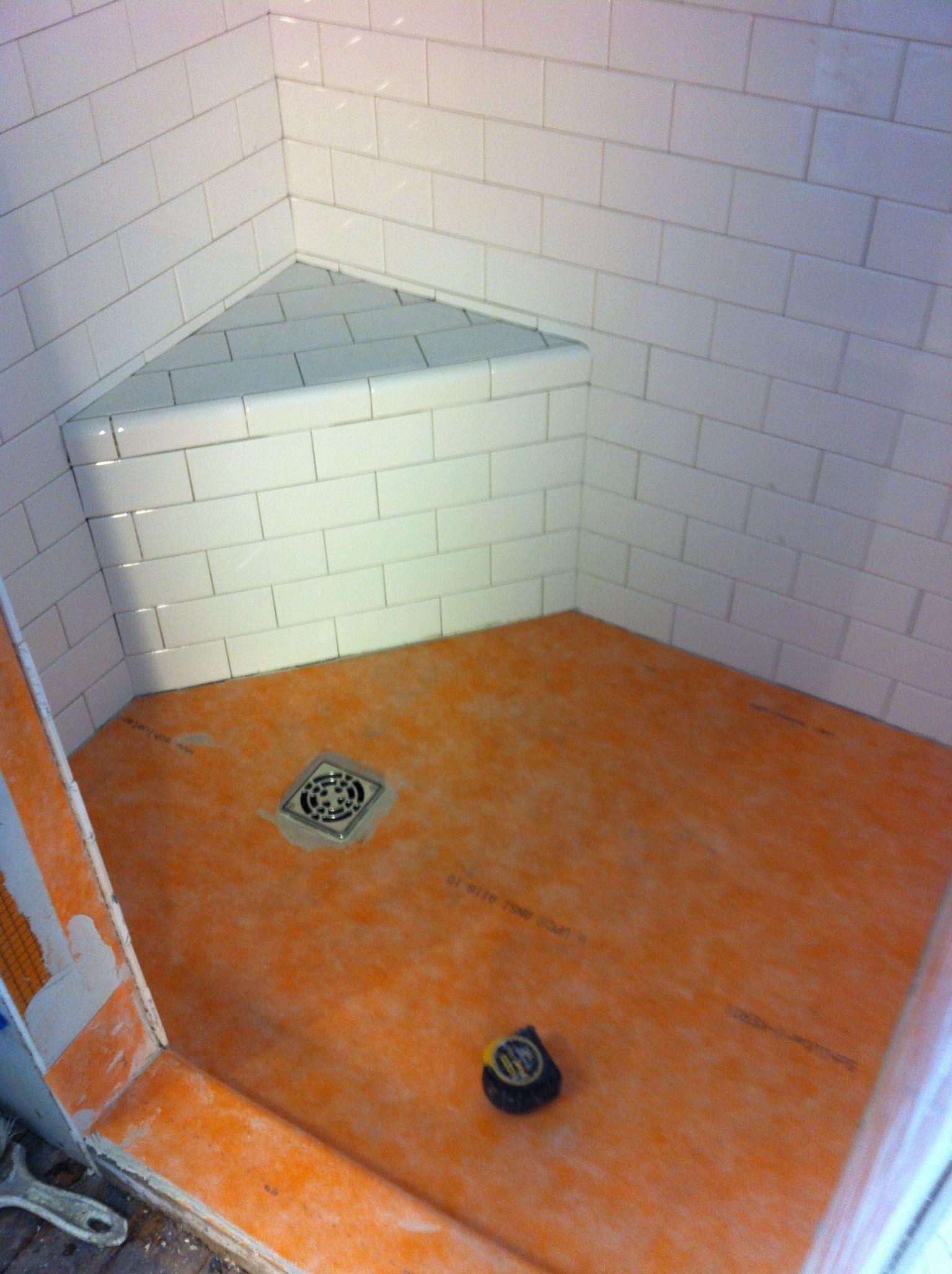 Schluter Kerdi Shower Waterproofing Membrane Tile Installation