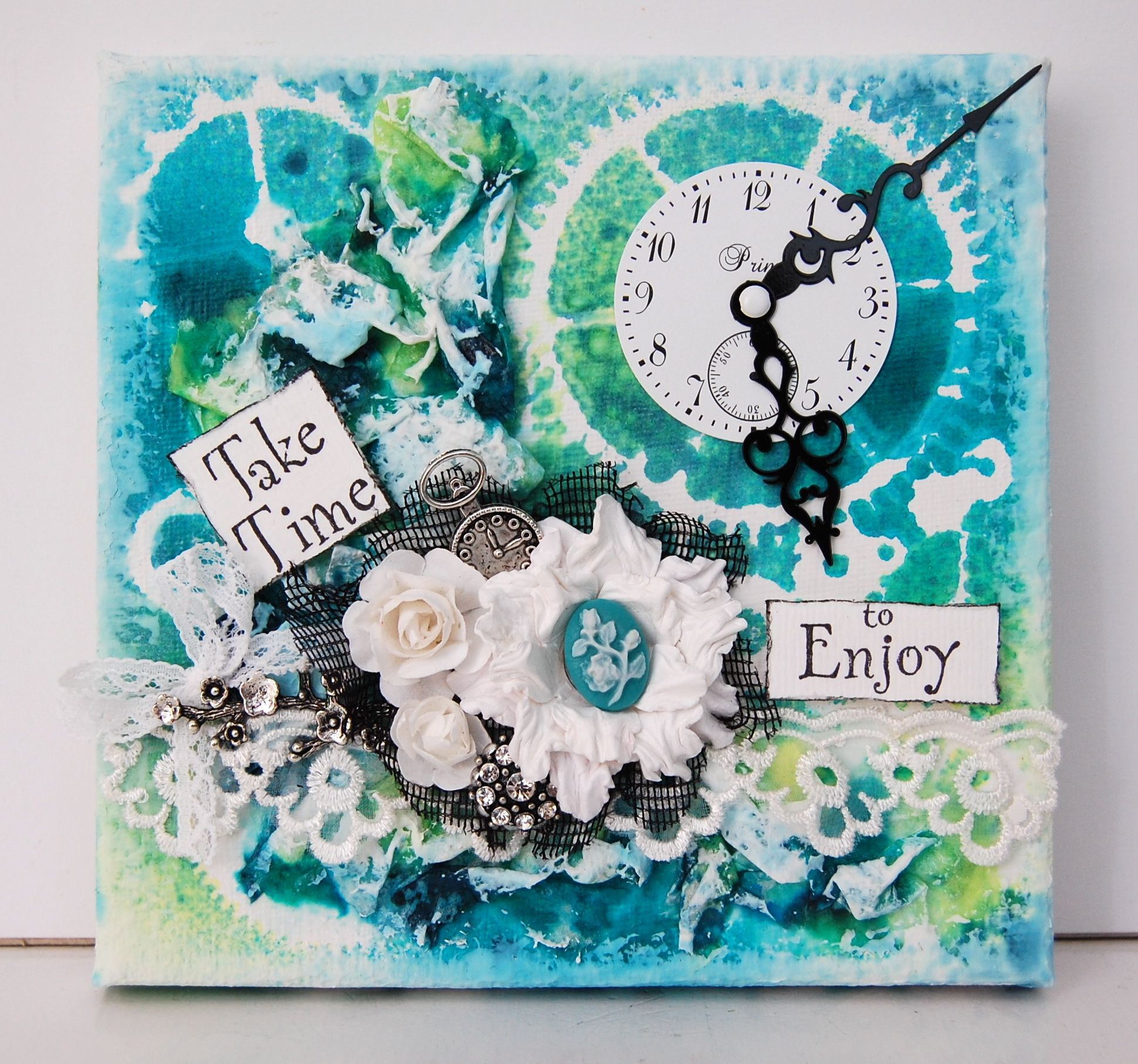 Mini Canvas 13 Arts Scrapbook Com Cards Tags Mixed
