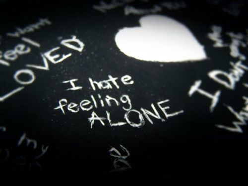 I Hate Feeling Alone Quotes Quote Life Sad Alone Girl Quotes Love