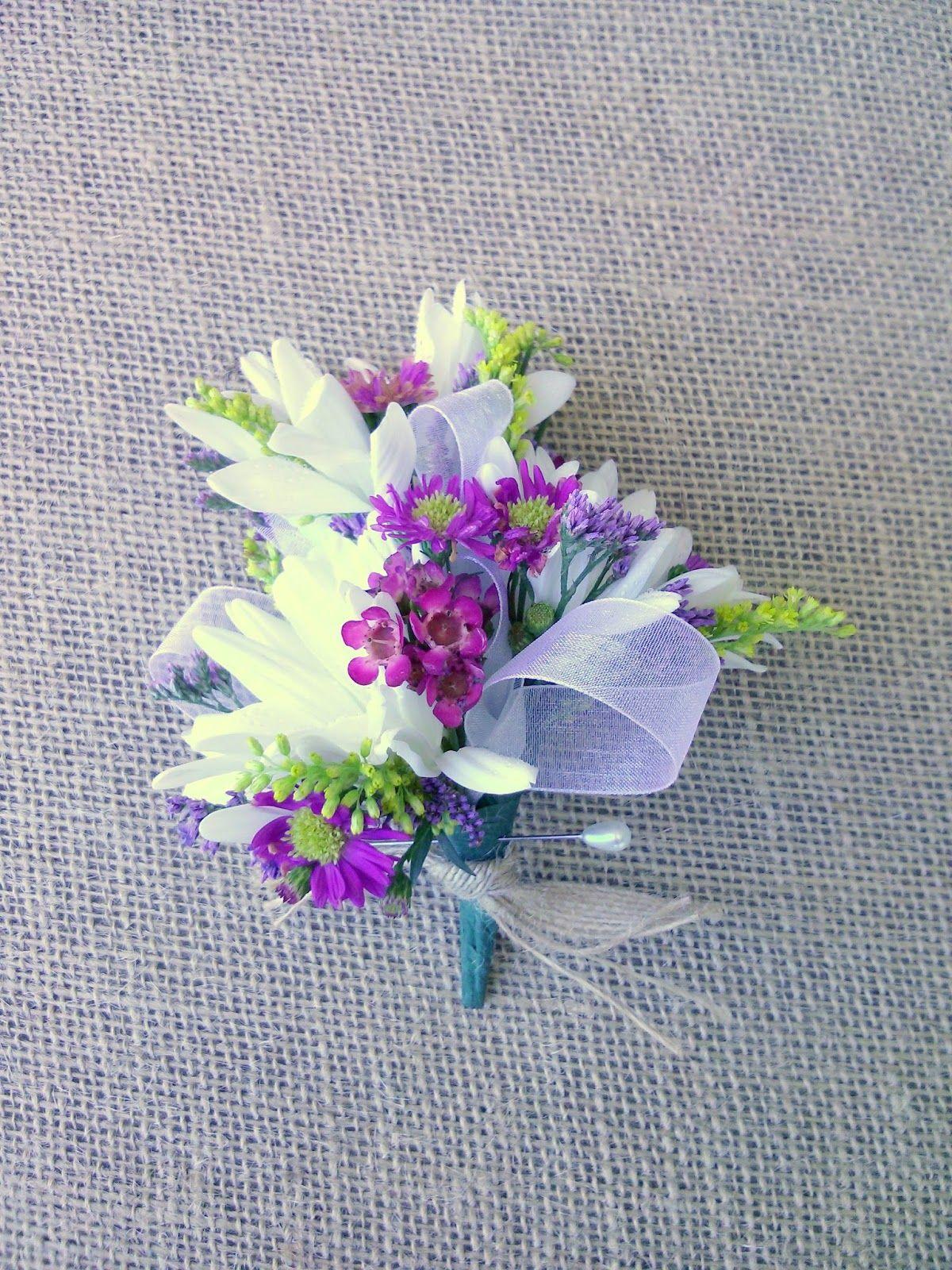 Celebration Flair Prom Flowers Wildflower Wedding Bridal Flowers