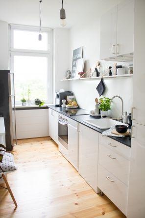 Kleine Räume groß inszeniert Small rooms, Kitchen stuff and Kitchens - einhand mischbatterie k che