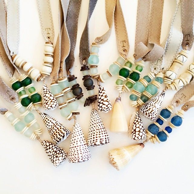 You can shake the sand out of your flip flops, but make sure you always have a {Twine & Twig} seashell around your neck. #twineandtwig #handmade #seashells #madeinthesouth #allnatural