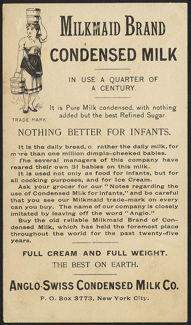 Photo of Milkmaid brand condensed milk – highway robbery [back]