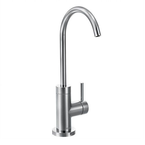 Moen S5530 Sip Modern One-Handle High Arc Beverage Faucet, Chrome ...