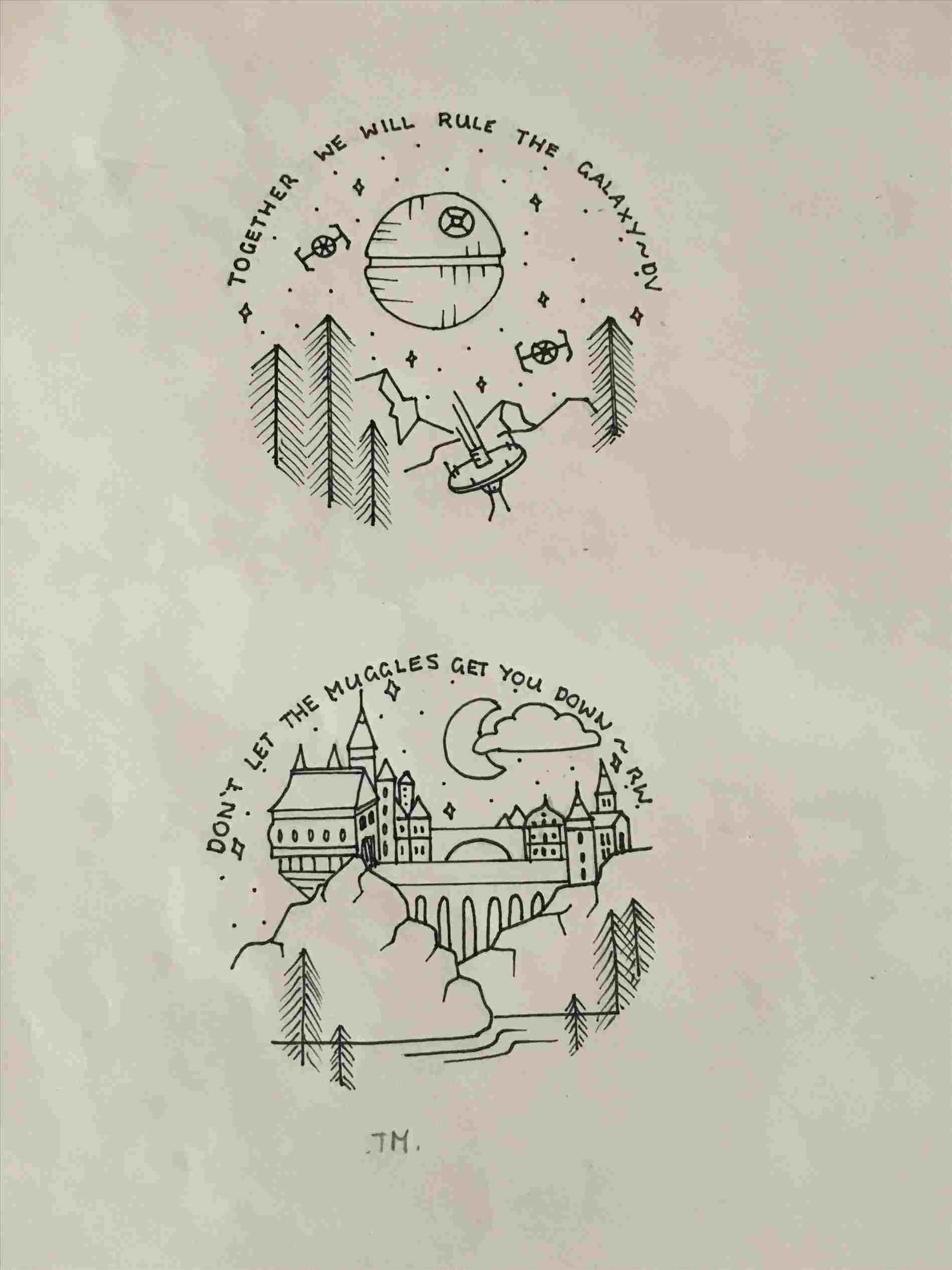 Full Body Easy Harry Potter Drawing Art Drawing Ideas Harry Potter Drawings Geek Tattoo Circle Drawing