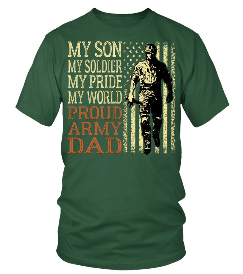 FatherDay Shirt My Son Is A Soldier Proud Army Dad Hoodie Father Gift trending (Round neck T-Shirt Unisex - Green Bottle) fathers day celebration ideas, fathers day gifts food, 1st fathers day gifts #FathersDaySale #toptags #sport, christmas decorations, thanksgiving games for family fun, diy christmas decorations