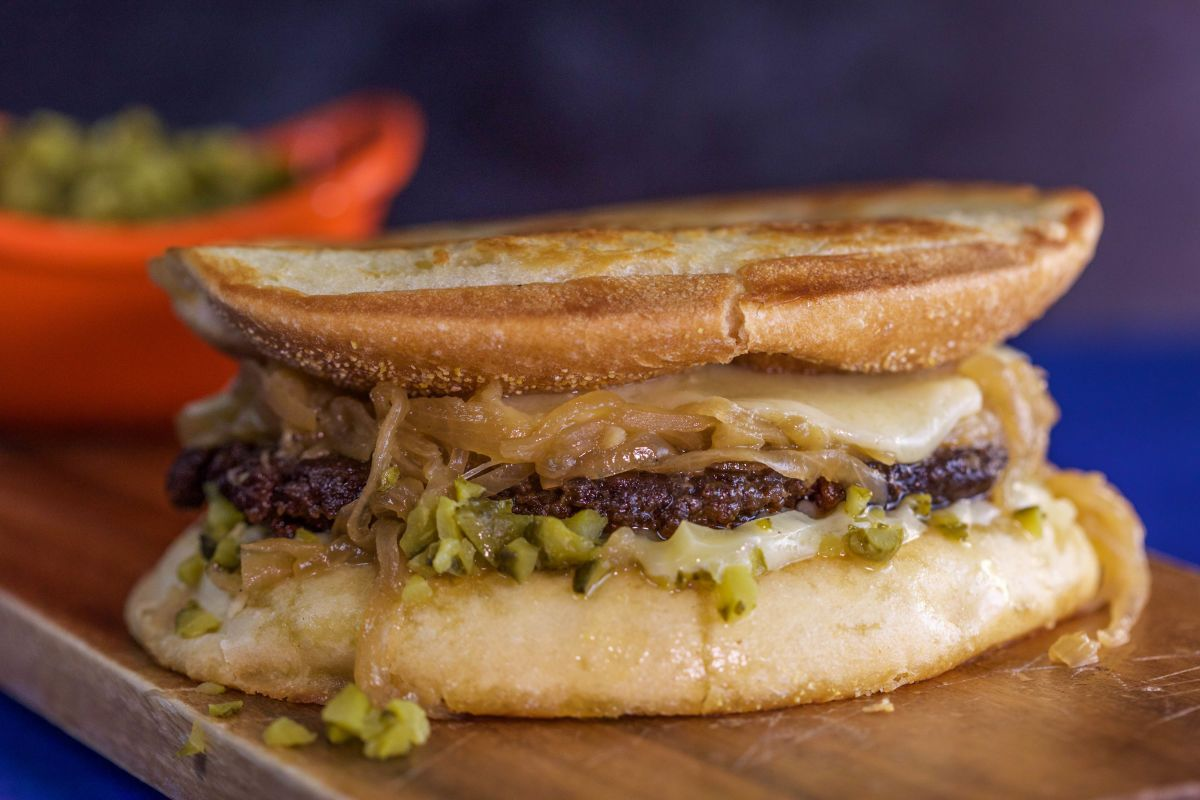 Take a look at Smash Burgers with Sweet Onions