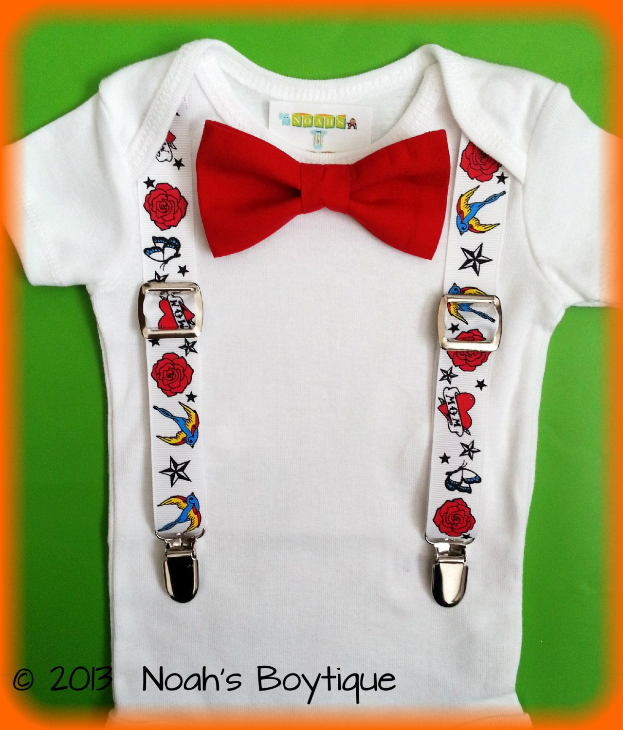 Rockabilly Baby Clothes Rockabilly Baby Boy Outfit Tattoo Baby