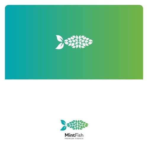 Mintfish Premium Finance Boring Is Not Us Design For A Fresh And Innovative Company We Provide Luxury Brand Logo Branding Design Logo Fashion Logo Branding