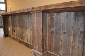 Barnwood Wainscoting With Shelf Diy Projects Rustic