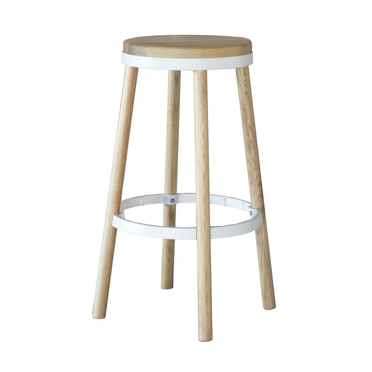 Life Interiors Oslo Bar Stool White Modern Bar Stools For Your Kitchen Online Or In Store Bar Stools Stool Industrial Bar Stools