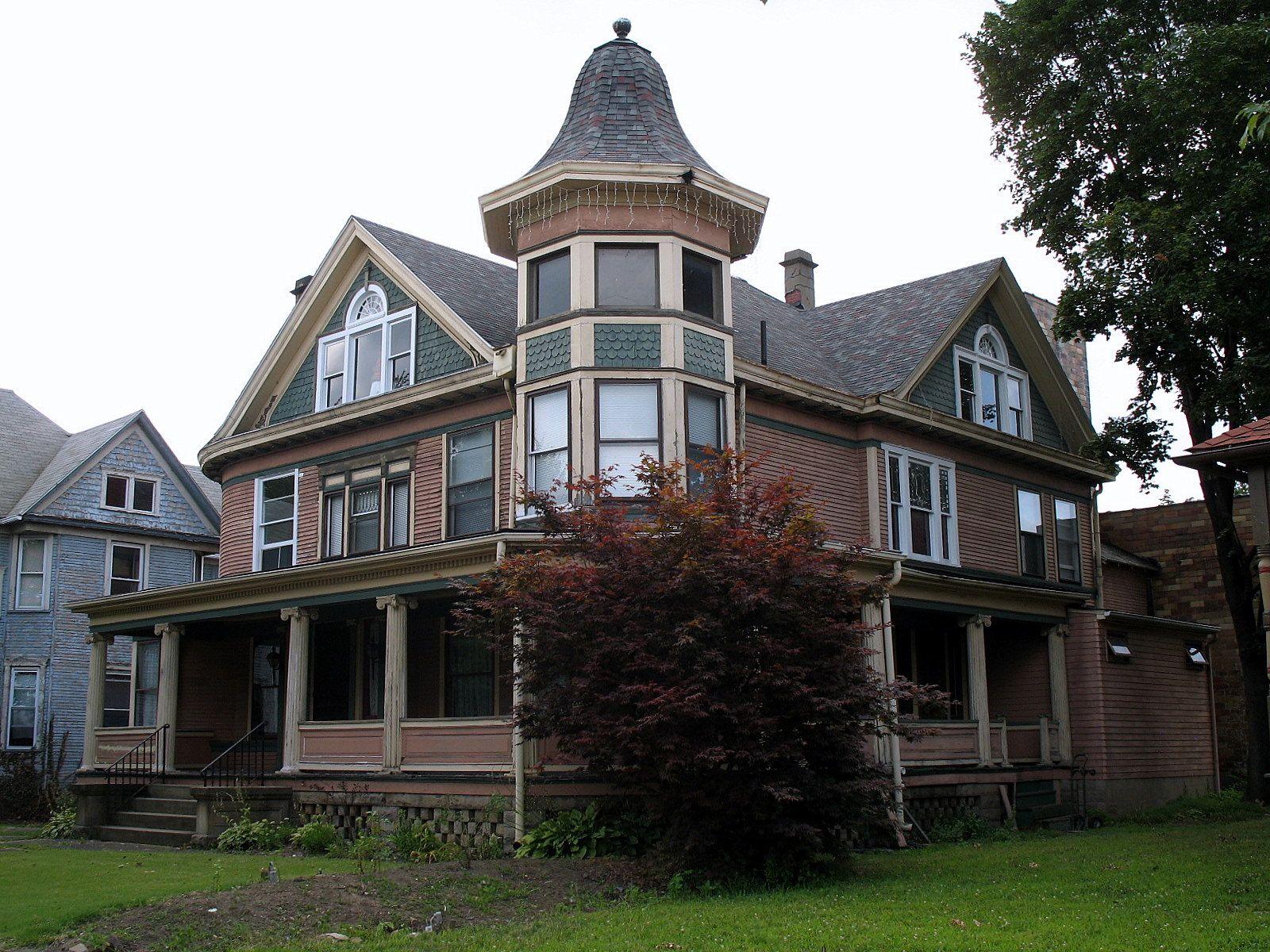 historic houses ohio file barber whitticar house 519 cleveland rh pinterest com old homes in cleveland ohio New Homes in Cleveland