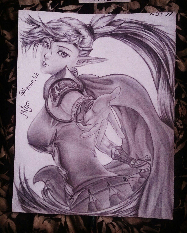 Miya Mobile Legends Mlbbfanart Fanart Kawaii Miya My Sketch