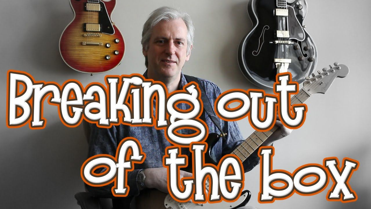 Breaking out of the box using open strings guitar chords