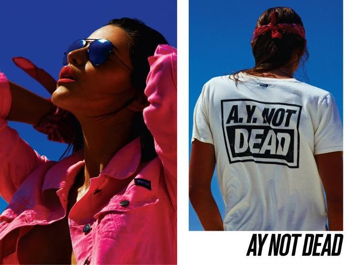 AY NOT DEAD Verano 2012: Calu Rivero by Sebastian Faena