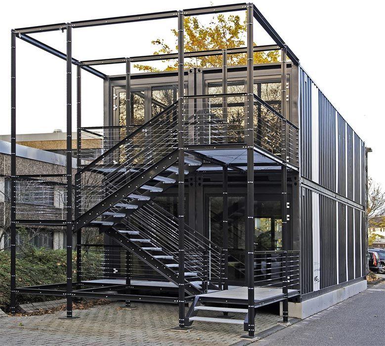 container von der hochsee zur hochschule f r studentische arbeitsr ume h user container. Black Bedroom Furniture Sets. Home Design Ideas