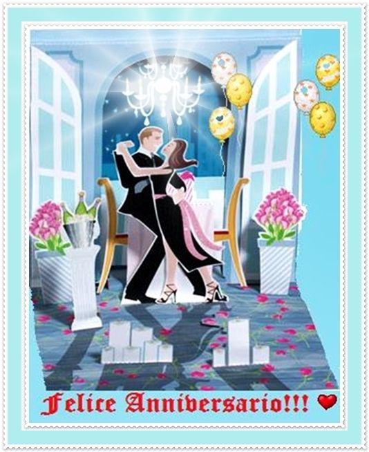 Anniversario Di Matrimonio In Spagnolo.Gif Buon Anniversario Happy Anniversary Joyeux