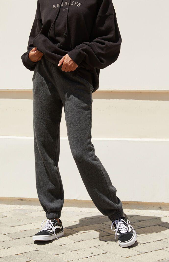 John Galt Womens Dark Grey Rosa Sweatpants - Gray
