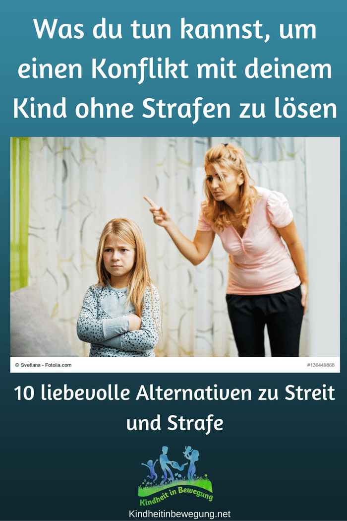 Was du tun kannst, um einen Konflikt mit deinem Kind ohne