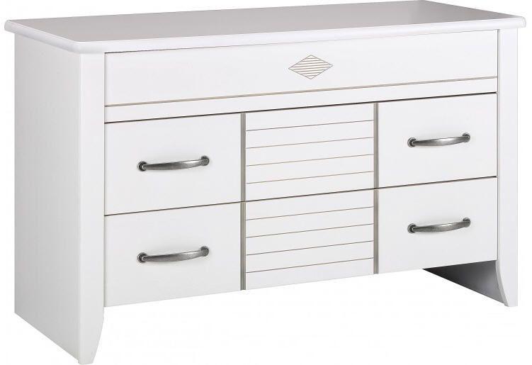 Commode blanche 3 tiroirs prix Commode Destock Meubles 84900