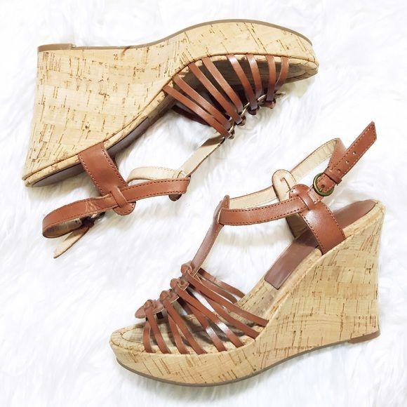 Audrey Brook wedge sandals