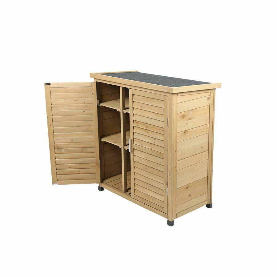 Ebay Sponsored Holz Gartenschrank Honey 87x96x47cm Schrank