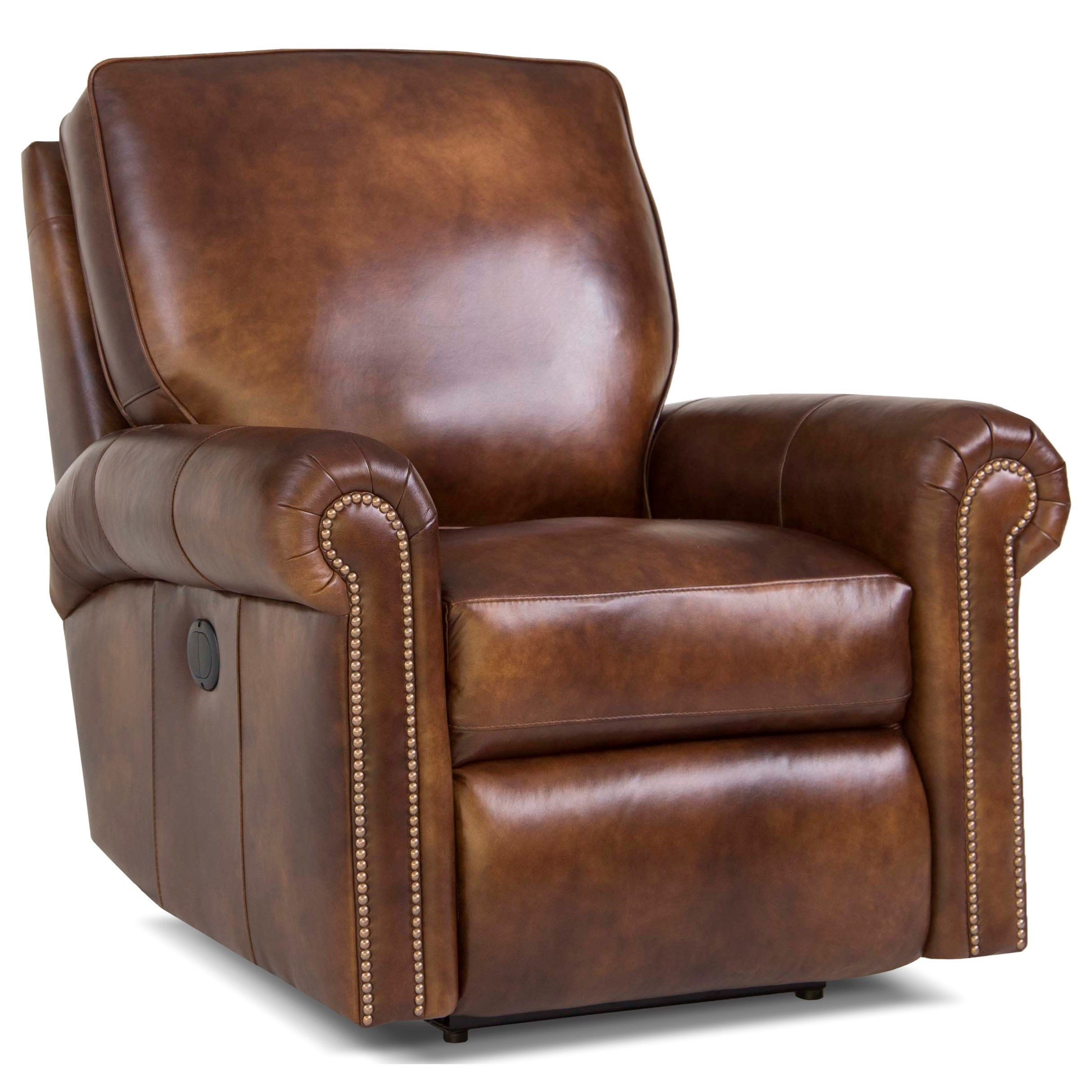 416 Swivel Glider Reclining Chair By Smith Brothers At