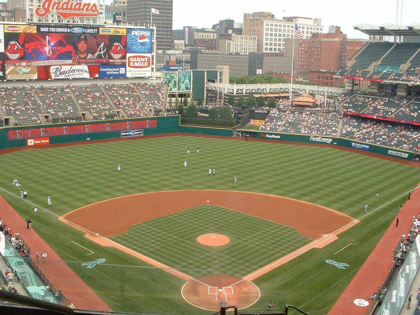 Photo Of Jacobs Field Baseball Park Jacobs Field Mlb Stadiums