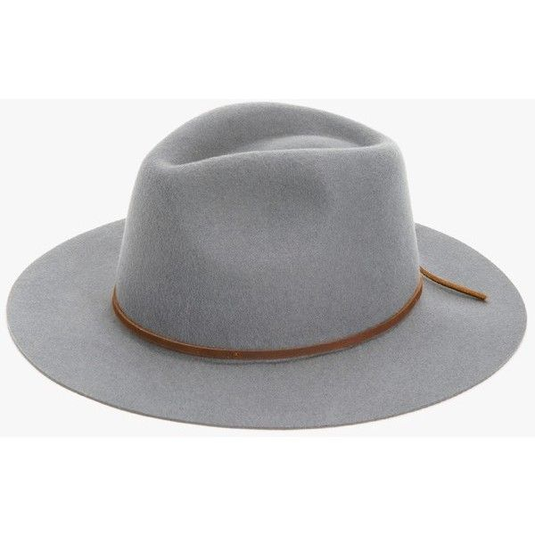 684c1d7947b 7 For All Mankind The Wesley Fedora In Light Grey ( 59) ❤ liked on ...