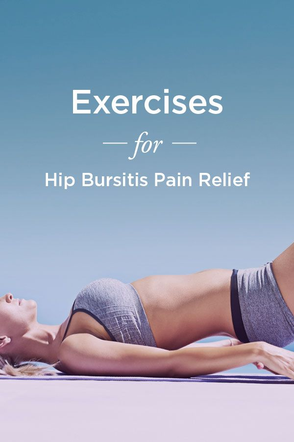 Bursitis Hip Exercises: For Pain Relief | Salud, Saludable y Ejercicios