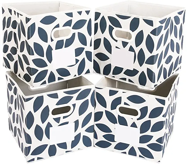 Amazon Com 12 Inch Storage Cube Bins Fabric Storage Bins Cube Storage Bedroom Drawer Organizer