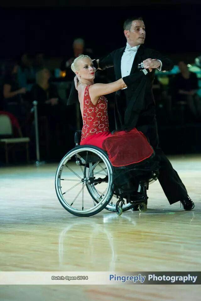 Dutch Open Wheelchair Dance Wheelchair Women Wheelchair Fashion Ballroom Dancing
