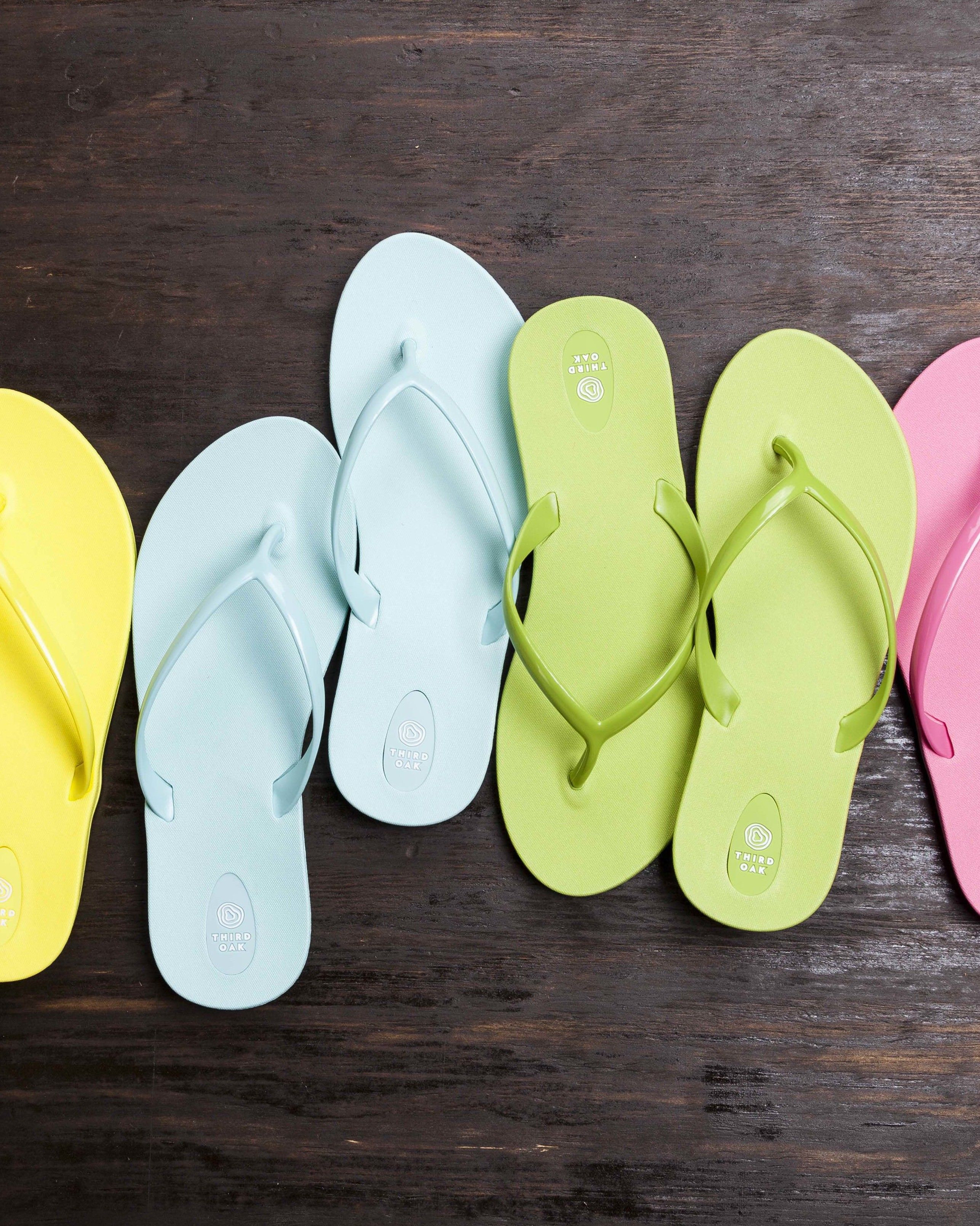 d95ac23323a2 Here s How to Recycle Old Flip Flops