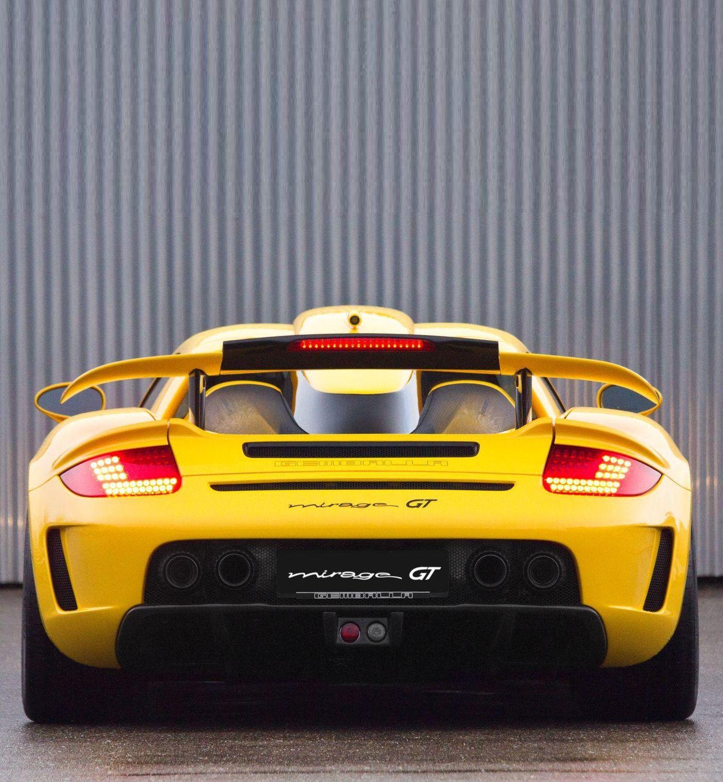 Gemballa Porsche 980 Carrera Mirage Gt Black Edition Porsche Carrera Porsche Carrera Gt Porsche