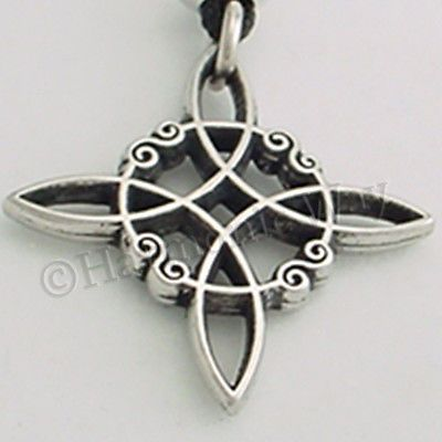 Jewelry Trends Pewter Celtic Knot Star of Creation Pendant on 23 Inch Chain Necklace