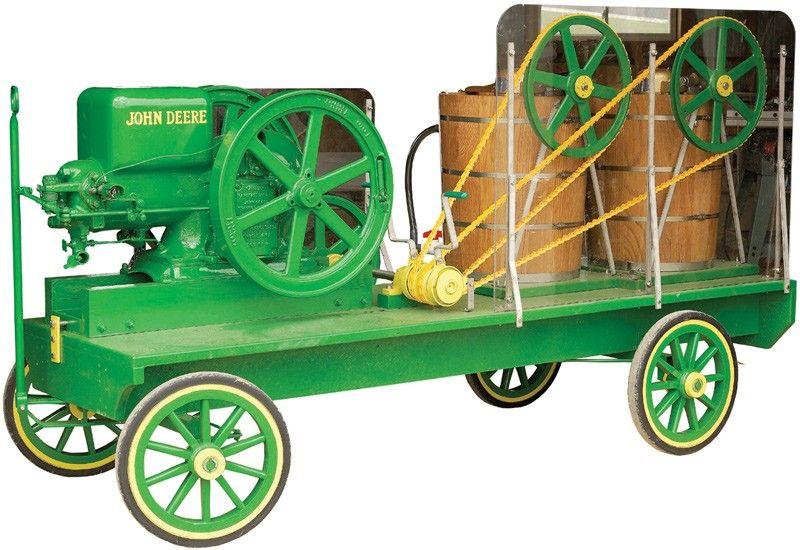Wagon Mounted Hit & Miss Ice Cream Freezers - Ice Cream Freezers-Maker - Food Processing Equipment - Kitchen & Food Prep