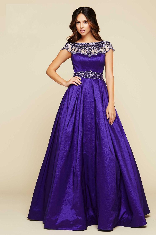 plus size purple gown - Google Search | Purple Paradise | Pinterest