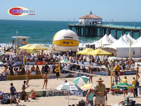 Manhattan Beach California Home Of Volleyball